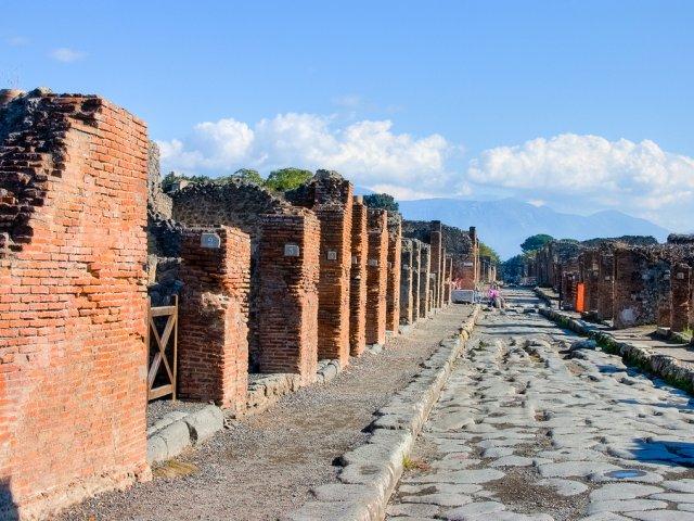 ruins in Pompei