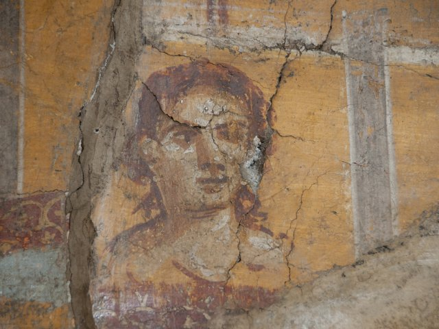 fresco in Pompei