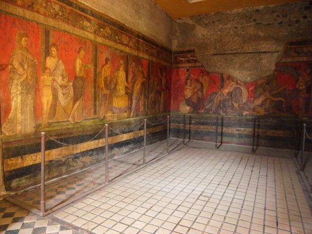 fresco in Ercolano