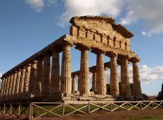 Temple in Paestum | Positano Car Service