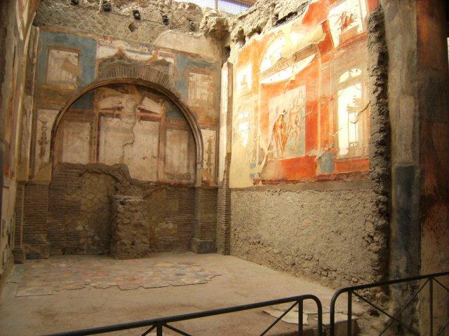 mosaics in Ercolano