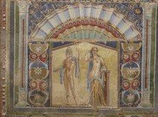 Mosaic in Ercolano | Positano Car Service