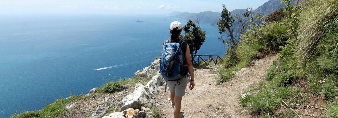 touristic waks in positano