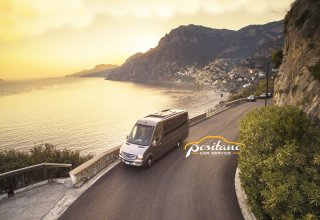 professional transfer service naples airport to positano