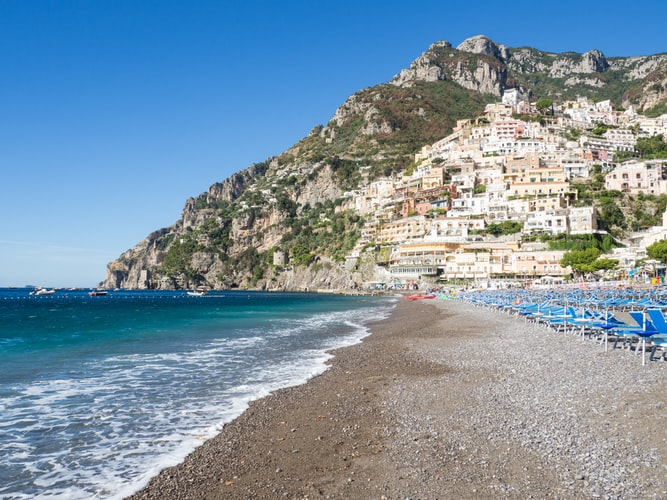 car service from naples airport to positano