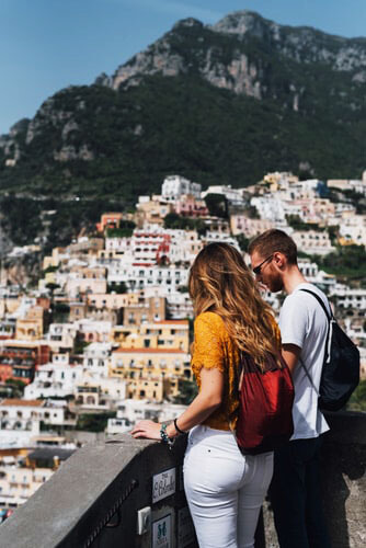 positano from rome how to