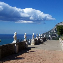 positano to ravello